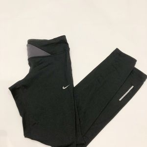 Nike Dri Fit active athletic leggings black small